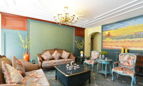 时尚美式风格客厅沙发效果图欣赏