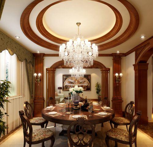 奢华水晶灯具点亮欧式客厅