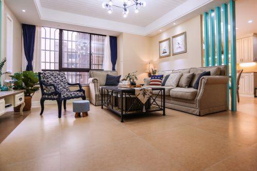 优雅创意美式风格客厅装修设计