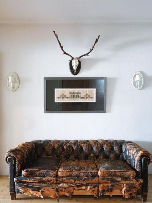 简洁经典美式风格客厅沙发装修图片