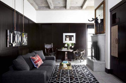 美式风格精致个性客厅茶几图片欣赏