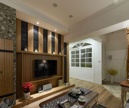 美式风格独特创意客厅装修效果图