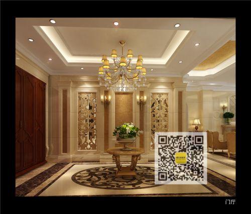 新古典美式别墅客厅装修效果图欣赏