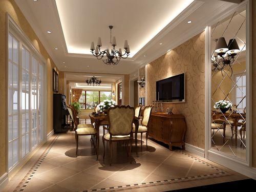 美式四居室客厅装修图片欣赏
