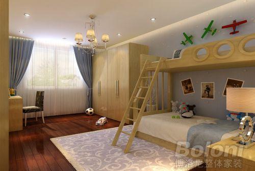 美式古典三居室客厅装修效果图欣赏