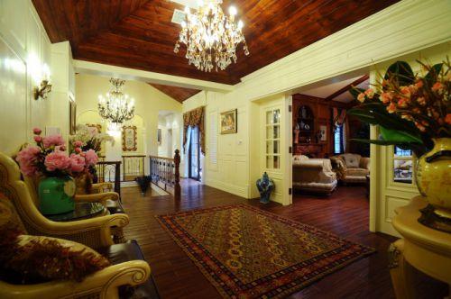 美式一居室客厅装修效果图欣赏