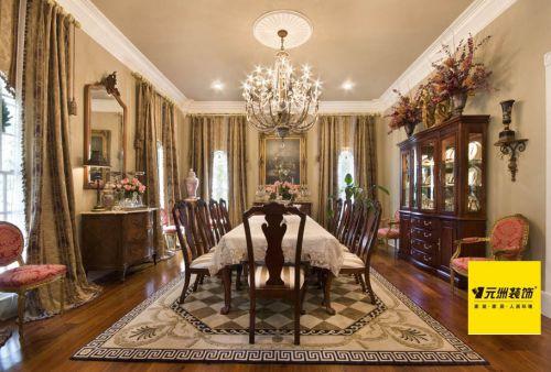 纯美式风格四居室客厅装修图片欣赏