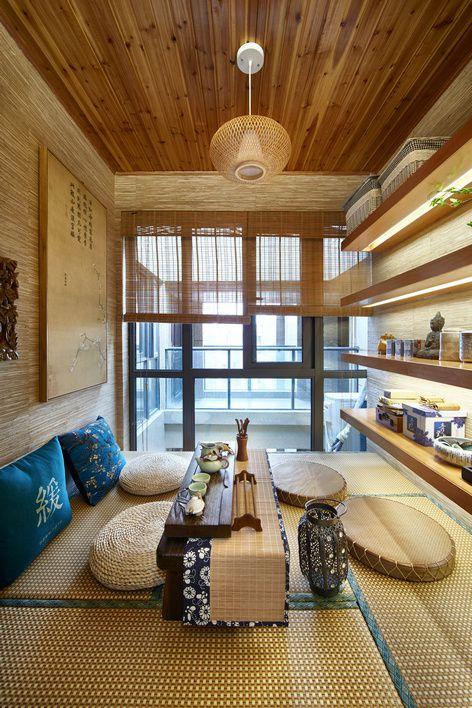 韩式风格客厅手工艺摆件装修效果图