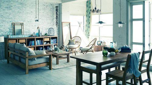 精巧日式风格小户型客厅装饰效果图