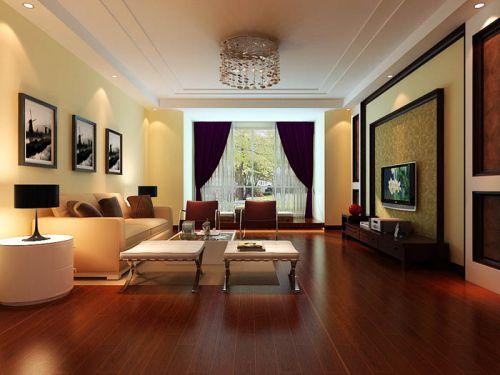 东南亚风格三居室客厅装修效果图欣赏