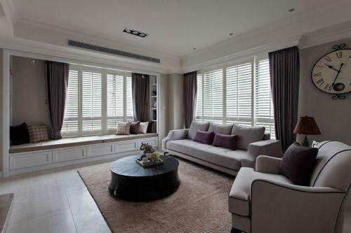 东南亚风格二居室客厅壁纸装修图片