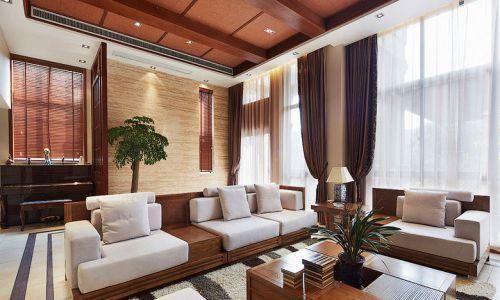 东南亚风格二居室客厅沙发装修效果图