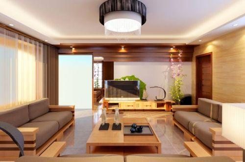东南亚风格二居室客厅装修效果图