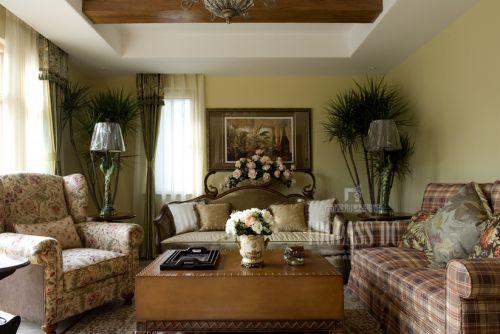 东南亚风格跃层客厅装修图片欣赏