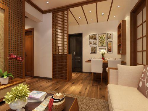 东南亚风格二居室客厅沙发装修效果图欣赏