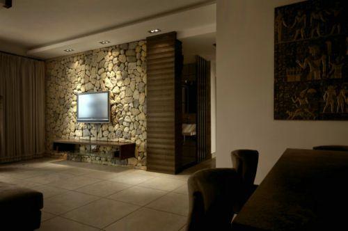 东南亚风格三居室客厅装修图片欣赏