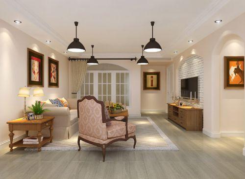 东南亚风格四居室客厅沙发装修效果图大全