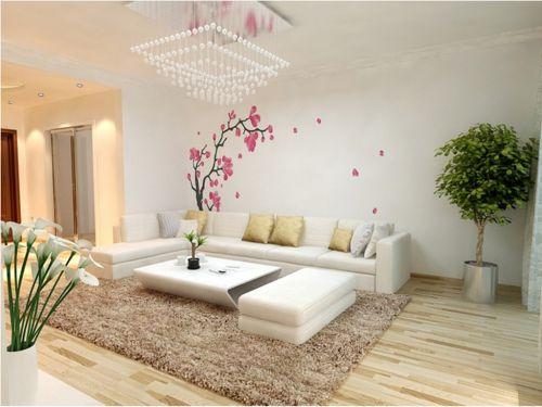 东南亚风格三居室客厅壁纸装修图片