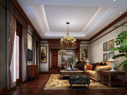 东南亚风格三居室客厅飘窗装修效果图欣赏