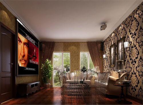 东南亚风格四居室客厅装修效果图
