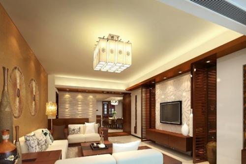 东南亚风格二居室客厅装修效果图欣赏