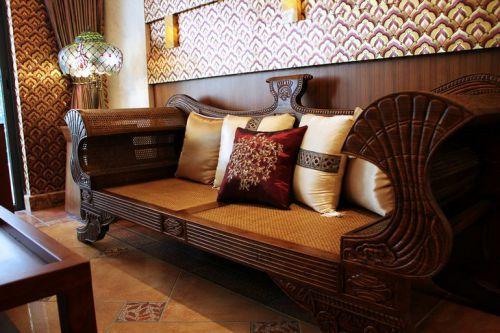 东南亚风格二居室客厅装修效果图大全