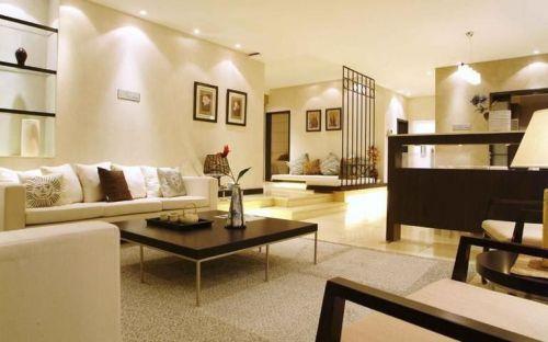 东南亚风格四居室客厅装修效果图欣赏