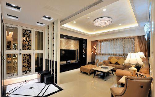 奢华优雅新古典风格客厅装修效果图