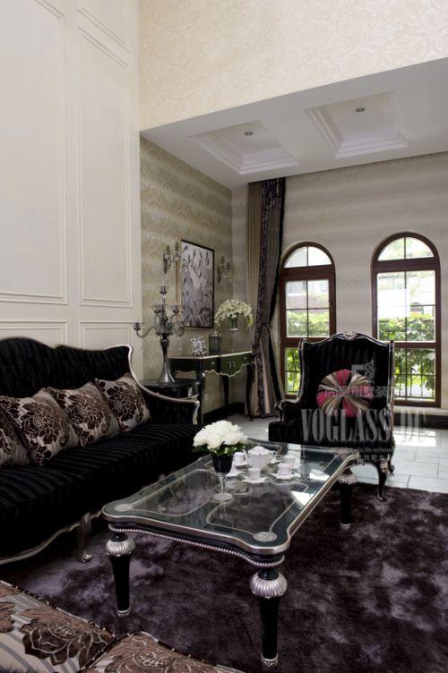 西式古典别墅客厅装修图片欣赏