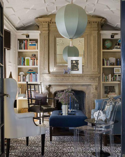 华丽优雅西式古典风格客厅装修实景图