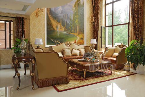 西式古典别墅客厅装修图片