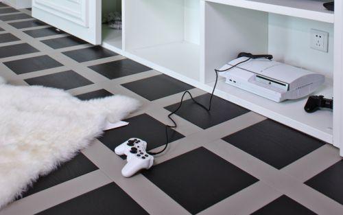 新古典主义四居室客厅装修效果图