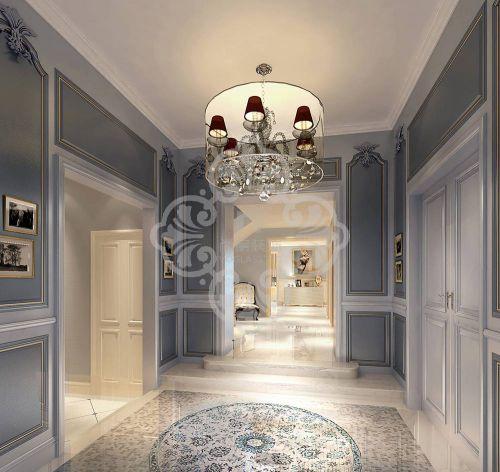 新古典主义别墅客厅装修图片欣赏
