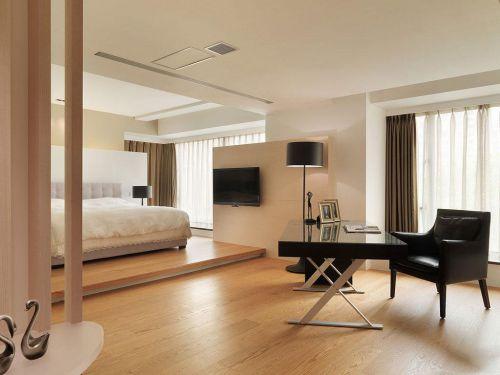 一居室古典风格米色茶几装修效果图