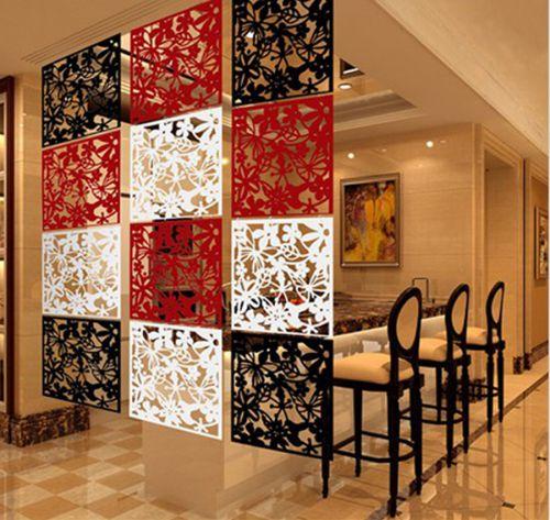 新古典两居客厅挂式白色屏风效果图