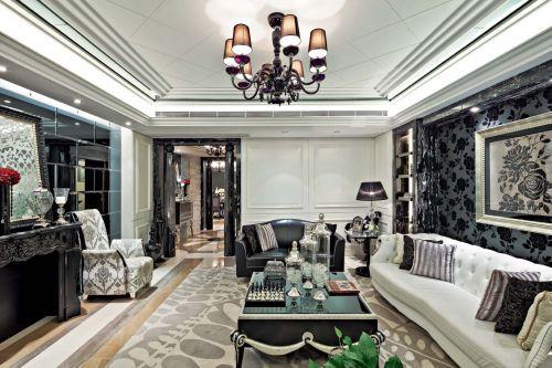 新古典风格六居室客厅飘窗装修效果图大全