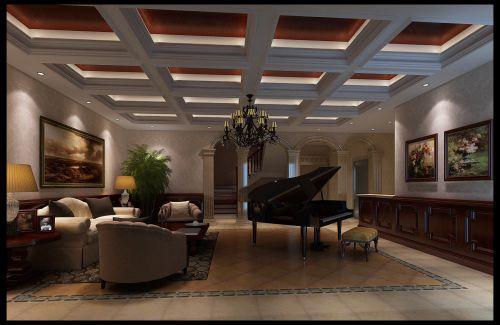新古典风格四居室客厅沙发装修图片