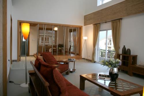 新古典风格别墅客厅吊顶装修效果图大全