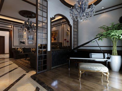 新古典风格其它客厅装修效果图