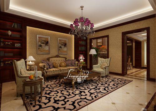 新古典风格六居室客厅装修图片