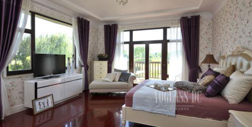 美式新古典别墅客厅装修图片欣赏