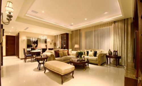 新古典风格二居室客厅沙发装修图片