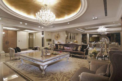 新古典风格六居室客厅沙发装修图片