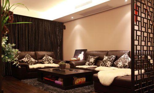 新古典风格三居室客厅沙发装修效果图欣赏