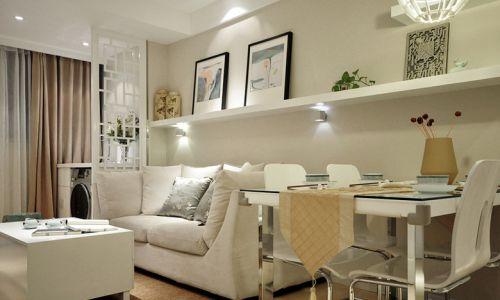中式古典三居室客厅茶几装修效果图大全