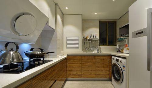 现代风格厨房大理石台面装修效果图