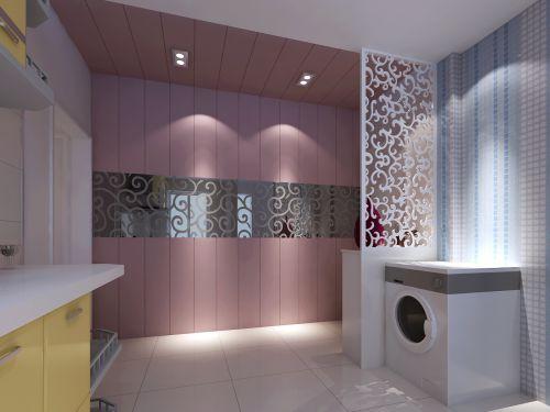 现代简约五居室厨房装修效果图欣赏