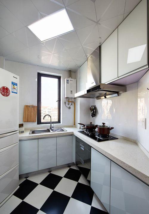 时尚现代简约风格厨房装修案例