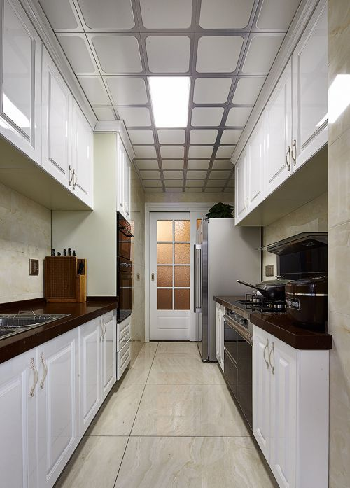 华丽现代简约风格厨房吊顶图片欣赏