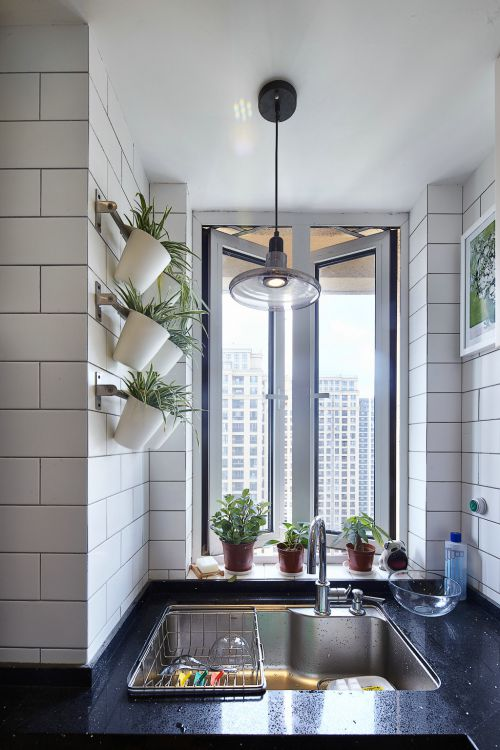 时尚现代风格厨房灯具效果图